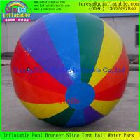 China New PVC Inflatable Multi-Function Inflatable Water Toys Water Bubble Water Walking Ball on sale