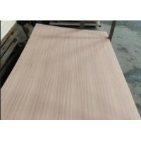 China Eco Friendly Fancy Plywood 1220x2440mm Size P/S Natural Sapele Face / Back on sale