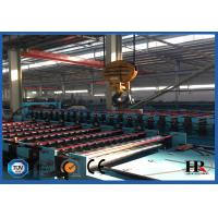 PLC Control Roof Roll Forming Machine , Metal Roof Panel Roll Former Machine