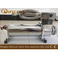 Quality Silver Suspension Auto Air Compressor , CE Approved Small Air Compressor For Tires for sale