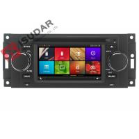 Quality Capacitive Touch Screen Chrysler 300c Dvd Player , Multimedia Car Entertainment System for sale