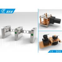 Quality Biometric Entrance Gate Security Systems , Durable Turnstile Barrier Gate for sale