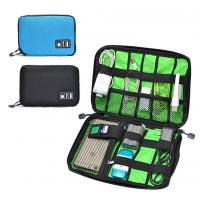 Quality Digital Cable Organizer Travel Storage Bags Size  Customized With Zipper for sale