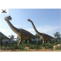 Quality Amusement Park Equipment Real Life Size Dinosaurs , Dinosaur Lawn Ornament  for sale