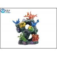 Quality Multi-color Polyresin Artificial Corals Aquarium Fish Tank Decorations For Home Decorating for sale