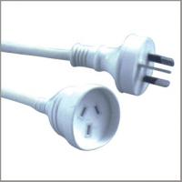 Quality Australian extension cords, 10A 250V SAA approved Power Cables with plugs for sale
