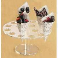 Quality Desk Shape Acrylic Ice Cream Cone Display With High Quality for sale