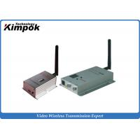 Quality 8 Channel Long Distance Video Wireless Transmitter , Long Range Video Transmitter 4000m for sale