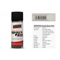Quality Matt White Color Aerosol Spray Paint , Car Spray Paint With SGS Certificate for sale