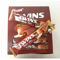 Quality Twins Crispy Roll Buscuits With Chocolate And Milk Inside / Sandwich Biscuit best snack for sale