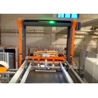 Quality Automatic Palletiser Machine For Stacking Barrels / Drums / Pails 2-4 Layers Per Minute for sale