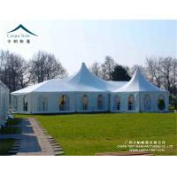 Quality Wind Resistant Clear Wall Outdoor Event Tents With High Peak Pagoda for sale