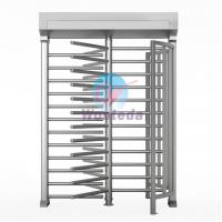 Quality Automatic Full Height Turnstile 304# stainless steel Pedestrian Access Turnstile for sale