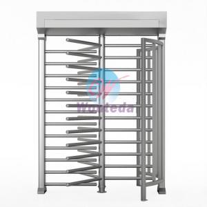 China Automatic Full Height Turnstile 304# stainless steel Pedestrian Access Turnstile on sale