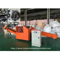 Quality Uniform Clothes Industrial Waste Shredder Coat Underwear Pants Jeans Cutting Machine for sale