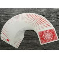 Quality Size 63 x 88 MM Casino Playing Cards German Blackcore Paper Linen for sale