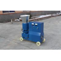 Quality Flat Die Biomass Wood Pellet Machines / Making Wood Pellets At Home Elect Motor Driven for sale