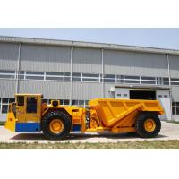 Quality RT-30 Ton Low Profile Dump Trucks For Underground Mining With DANA Torque Converter for sale