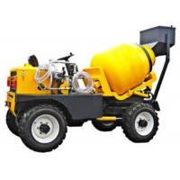 Buy cheap Mobile Mixer , 4x2 self loading mobile mixer , 800L drum 350L concrete mixer, Mobile Concrete Mixer Trailer from wholesalers