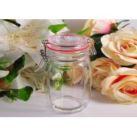 Quality White Crystal Glass Tableware Wide Mouth Mason Jar For Kitchen for sale