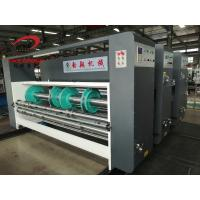 China YIKE Corrugated Box Chain Feeder Water Ink Two Color Printer Manual Slotter Machine for sale