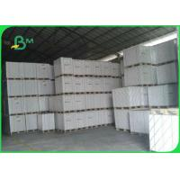 Quality 400gsm 600gsm Double Side Coated Duplex Board White Back For Packing 70*100cm for sale