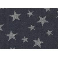 Quality Classics Star Denim Jeans Fabric Jacquard Upholstery Fabric 230gsm for sale