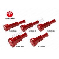 Buy cheap Geological Exploration Use DTH Tapered Button Bits For Mission Series from wholesalers