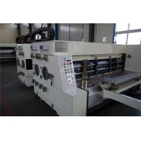 Quality High speed 4 colors corrugated cartons printer slotter die cutter, automatic paper feeding for sale