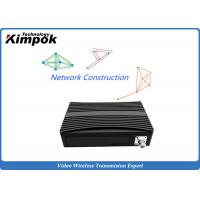 Buy 340MHz Wifi and 3G / 4G COFDM IP Mesh Full Duplex TDD Wireless Transceiver at wholesale prices