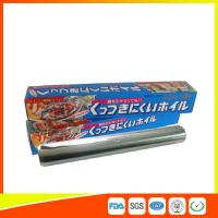 Quality OEM Kitchen Aluminium Foil Roll Food Grade For Cooking / Freezing for sale