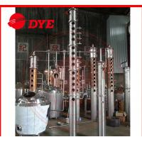 Quality Frequent Red Copper Commercial Distillation Equipment Of Alcohol 3MM Thickness for sale