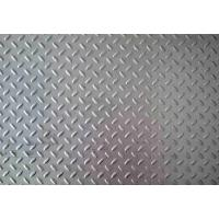 Quality Grade SUS304 Stainless Steel Checkered Plate Thickness 2.0 - 8.0mm for sale
