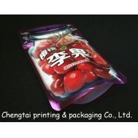 Quality Customized Food Packaging Snack Packaging Bags With Clear Window Moisture Proof for sale