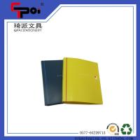 Quality Stationery Supplier PP Cover A4 Paper Customized File Folder Plastic Ring Binder for sale