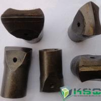 Quality 7 Degree Flat Chipways Taper Chisel Bit Apply To Variety Rock Formations for sale