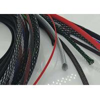 Quality Abrasive Resistance Braided Cable Sheath Customer Logo With Smooth Surface for sale