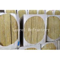Quality Rockwool Mattress Refractory Rockwool Sound Insulation with Wire Mesh 20 MM Thick for sale