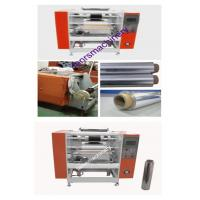 Quality Low noise Core loading Aluminum Foil Rewinding Machine for long foil rolls rewinding for sale