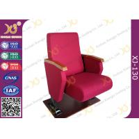 Quality Full Upholstered Cover Auditorium Chairs With Soft Closing Seat for sale