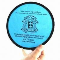 Quality Pop-up Fan, Made of 190T Nylon and Steel Ring for sale