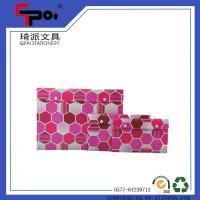 Quality Office & School Supplier PP Stationery A4 Size Document Folder With Button File Bag for sale
