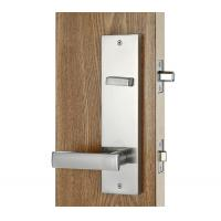 Buy Silver Entry Door Handlesets / Outside Door Handles Adjustable Latch at wholesale prices