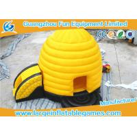 Quality Exciting Air Castles Inflatables Honeycomb Bouncer For Innovative Games for sale