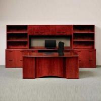 Quality Office Desk in U Shape, Made of Wood Veneer, Measures 71 x 36 x 29cm for sale