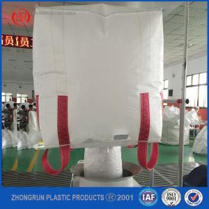 China pp big bag/1000kg jumbo bag with virgin pp material for powder,grain big bag,bulk bag on sale