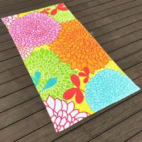Quality Rainbow Kids Colorful Beach Towels for sale
