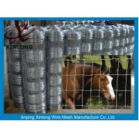 Quality Multi Function Galvanized Cattle Fence , Galvanized Horse Fence 30 - 100m Length for sale
