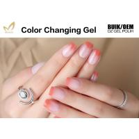 Quality High Glossy Cheap Low Price Soak Off Smooth Surface Color Changing UV Gel Polish for sale