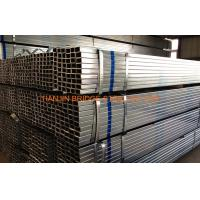 Quality 2 Inch Pre Galvanized Steel Rectangular Tube Q195 Anti-corrosion ISO9001 - 2000 for sale